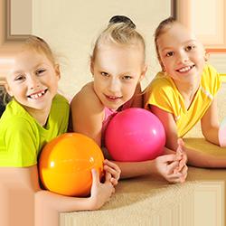 happy kids fun sports
