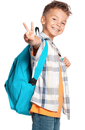 Martial Arts Master Chang's Martial Arts happy kid